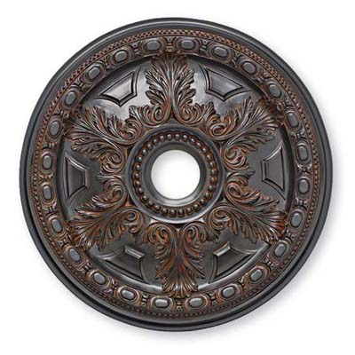 Arctel Wood Finish ceiling medallion