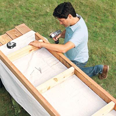 assembling the seat base