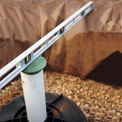 Fit The Overflow Emitter How To Install A Dry Well