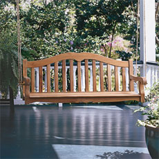 How to Build Your Own Porch Swing