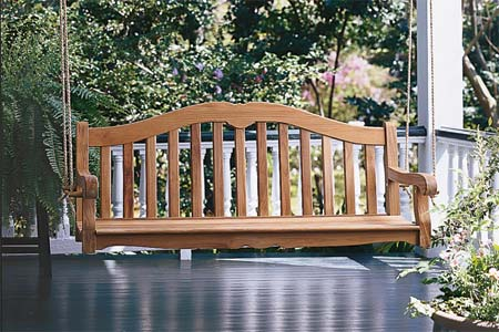 porch swing building instructions