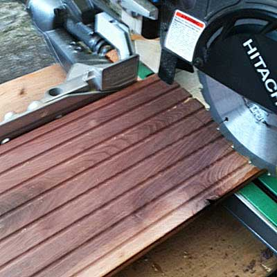 cut the other boards to lenght to Build a Hairpin-Leg Coffee Table