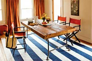 How to Build a Table from Salvage Beams