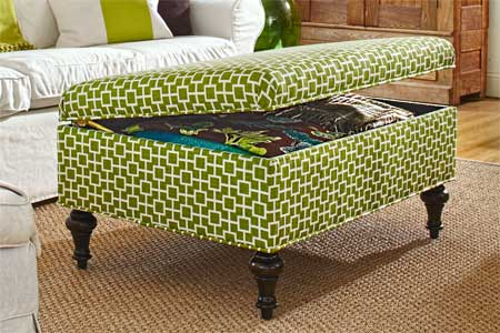 How To Build A Round Footstool