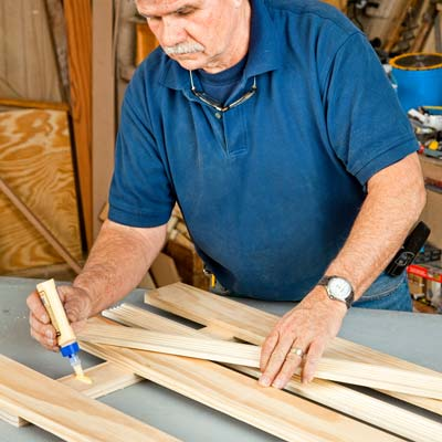 Add the Fluted Casing to build a wall-mounted coatrack
