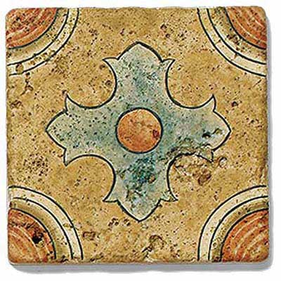 photo of art tile in San Simeon pattern 5 in Coast style