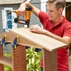 Install the Roof when Building a Fold-Down Murphy Bar