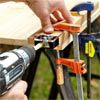 Build the Door Frame by Drilling the Dowel Holes when Building a Fold-Down Murphy Bar