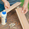 rolling outdoor grill table assemble frame with wood glue