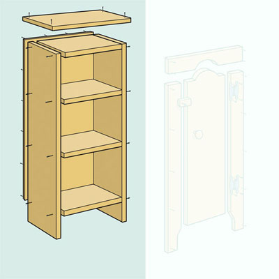 Build the Box when building a jelly cupboard