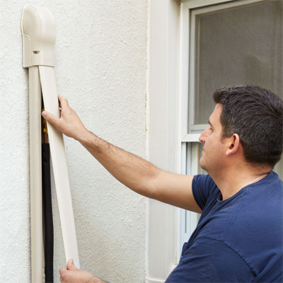 Hide The Lines How To Install A Mini Split Ac Heat Pump