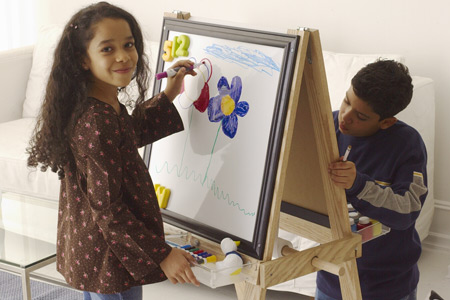 Build Your Own Childrens Easel
