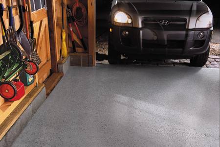 Epoxy Coating a Garage Floor