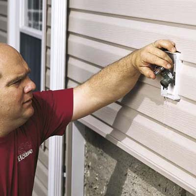 Where To Drill Hole For Outdoor Faucet Doityourself Com