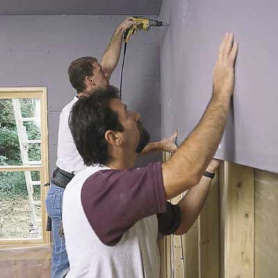 Cover The Wall How To Hang Drywall This Old House