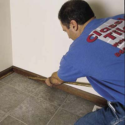 Install Shoe Molding How To Lay A Vinyl Tile Floor