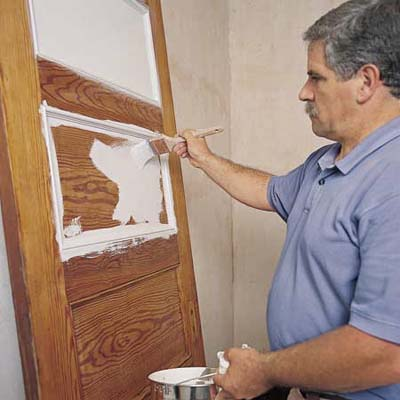 Prime how to paint doors windows and walls this old Priming walls before painting