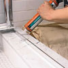 Waterproofing a shower door