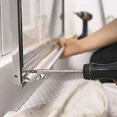 Attach Drip Rail How To Install A Shower Door This Old