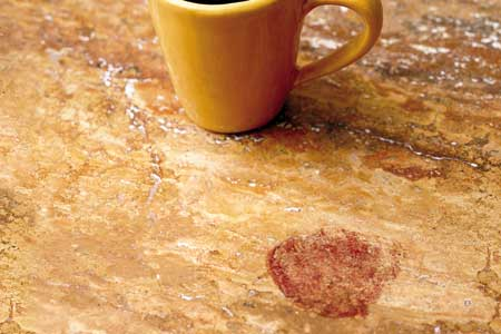 Removing Spots from Kitchen Countertops
