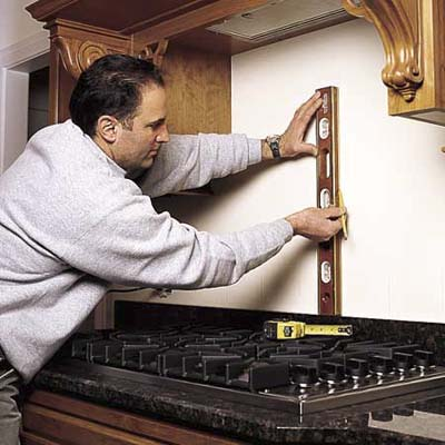 Prepare the wall how to install a tile backsplash this - How to replace backsplash ...