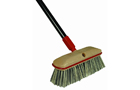 long-handled scrub brush