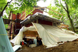 more demolition at the Arlington Italianate