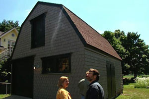 exterior of the concord cottage house project 2003