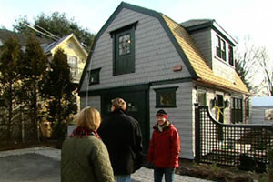 standing outside the 2003 concord cottage house project