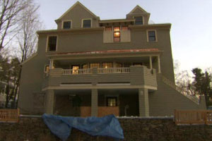 renovation is nearly complete at the Newton house project