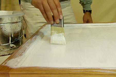 how to whitewash cabinets video 1