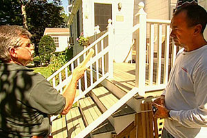 Tom Silva replaces deck balusters