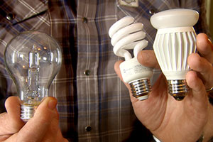 Kevin O'Connor explains what to look for when choosing energy-efficient lightbulbs
