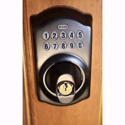 Schlage password-protected door lock