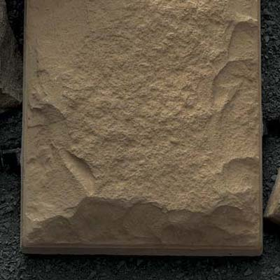 sand-colored cast stone veneer