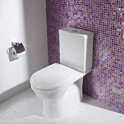 Water-saving, dual-flush toilet from Caroma