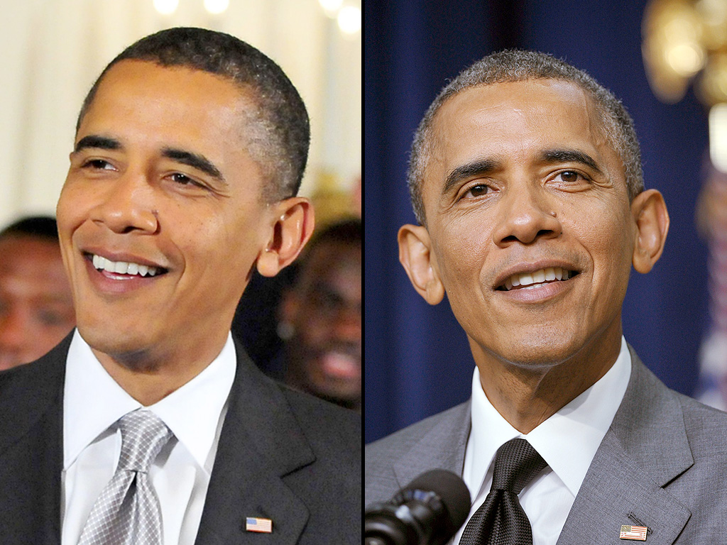 Barack Obama Birthday: See the President's Changing Looks ...