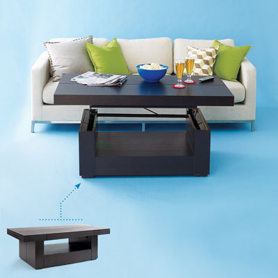 Homes Decoration Tips Small Spaces Coffee Tables