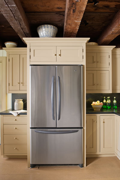 Expertly Placed Fridge | Farmhouse Kitchen Revival | This ...