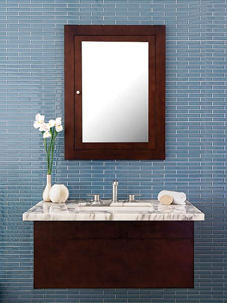 Bathroom Vanity Tile Ideas